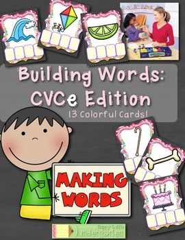 Building Words: CVCe Edition - Interactive and FUN Spelling Center.