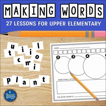 Making Words Vocabulary Activities