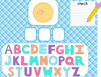 Building Words Flipchart for ActivInspire