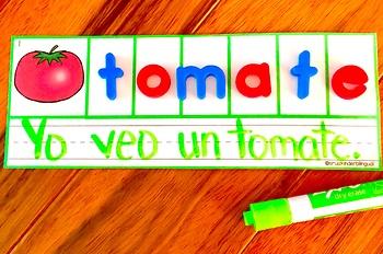Building Words ~ Formando Palabras