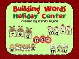 Building Words Holiday Center: Anagrams!