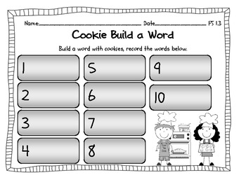 Building Words - Long and Short e