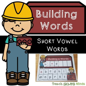 Building Words Phonics Mats - Short Vowel