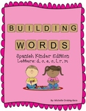 Building Words Spanish Kinder Edition Letters: d,o, s, o, l, r, m