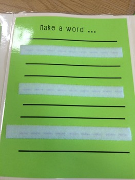 Building Words WTW & Guided Reading Tool
