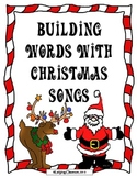 Building Words With Christmas Songs