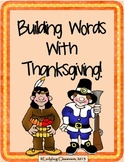 Building Words With Thanksgiving