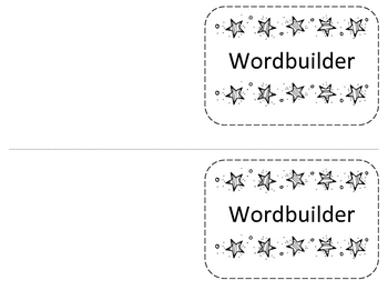 Building Words Word Builder