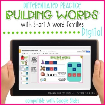 Building Words with Short A (Digital)