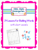 Building Words with Short Vowels {Making Words Lesssons}