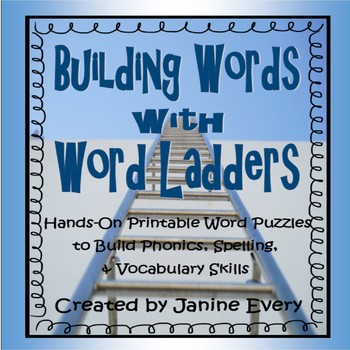 Word Ladders: Hands-on Printable Word Puzzles