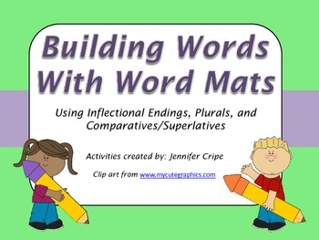 Building Words with Word Mats