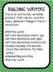Building Writers: Differentiated Writing Warmup Strips {Ma