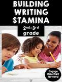 Building Writing Stamina