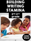 Building Writing Stamina