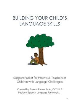 Building Your Child's Language Skills: Parent & Teacher Handout