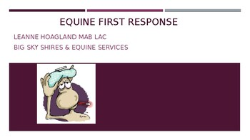 Building Your Equine First Aid Kit PP