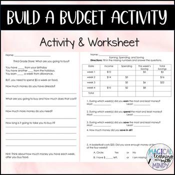 Building a Budget Activity