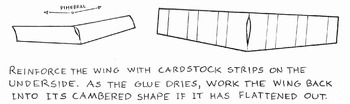 Building a Cardstock Paper Airplane