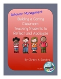 Building a Caring Classroom: Teaching Students to Reflect