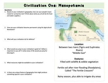 Building a Civilization: Geography Simulation