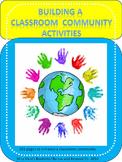 Building a Classroom Community