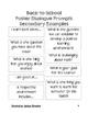 Building a Classroom Community Using Poster Dialogue