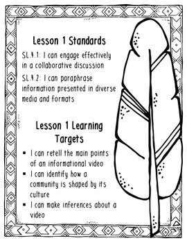 Grade 4 ELA Module 1A Student Workbook (Unit 3- Building Classroom Community)