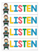 Listening - Building a Classroom Culture of Care and Respect