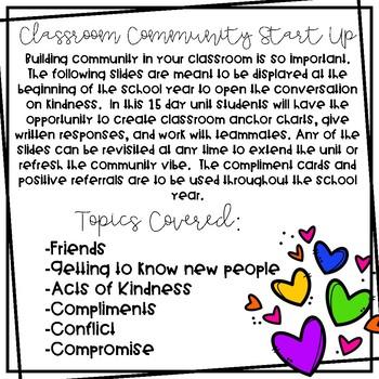 Classroom of Kindness Activities