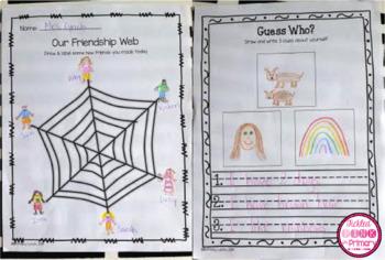 Building a Community Classroom - Friendship Activities