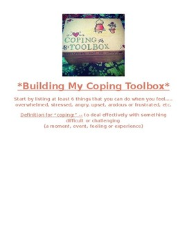 Building a Coping Toolbox