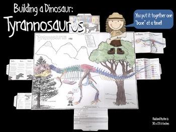 Building a Dinosaur: Tyrannosaurus rex