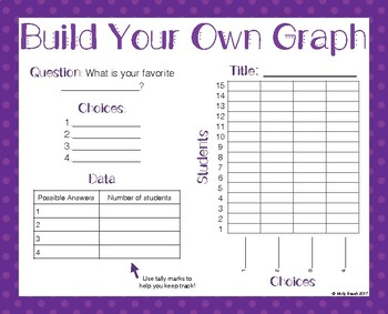 Building a Graph Activity: Asking Questions, Collecting Data, Building Graph