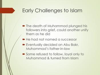 Building a Muslim Empire