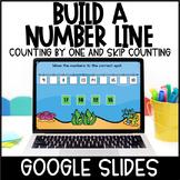 Build a Number Line   Google Slides