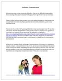 Building a Positive Classroom Climate: Inclusion Activity Grades 6-9