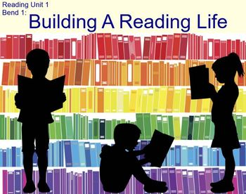 Building a Reading Life, Bend 1, TC Reading unit, Gr 3