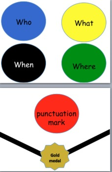 Building a Sentence- Learning Center or Interactive Bulletin Board