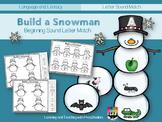 Building a Snowman Beginning Sounds