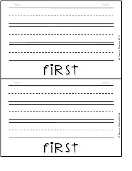 How to Build a Snowman Flipbook {Expository Writing}