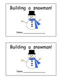 Building a Snowman book
