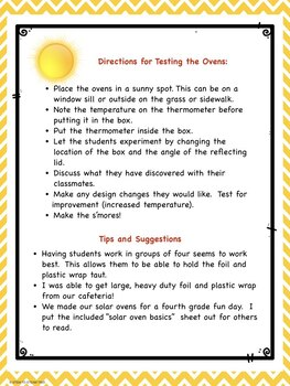 Building a Solar Oven - STEM Activity