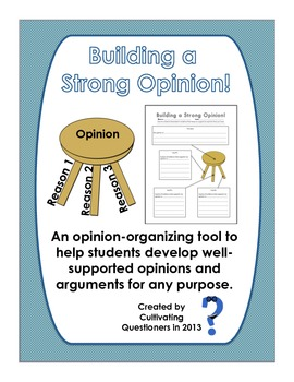 Building a Strong Opinion: An Opinion Planning Tool for Persuasive Writing
