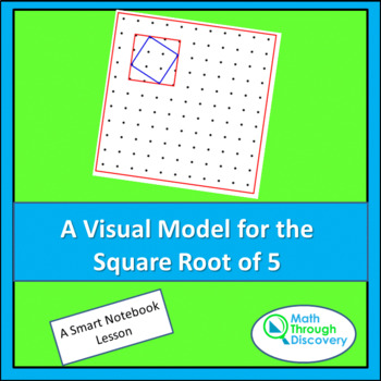 A Visual Model for the Square Root of 5