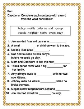 Building a Vocabulary Powerhouse - Grade 1