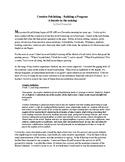 Creative Publishing - Building a Program