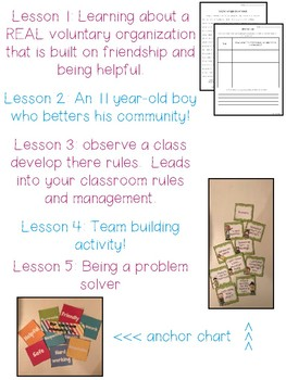 Building a classroom community; Back to school