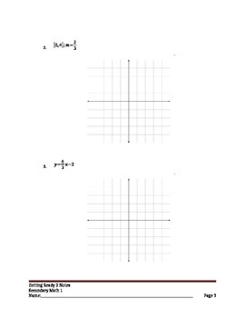 Building a linear function from a line pattern, explicit and recursive equations