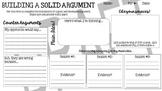 Building an Argument - Graphic Organizer